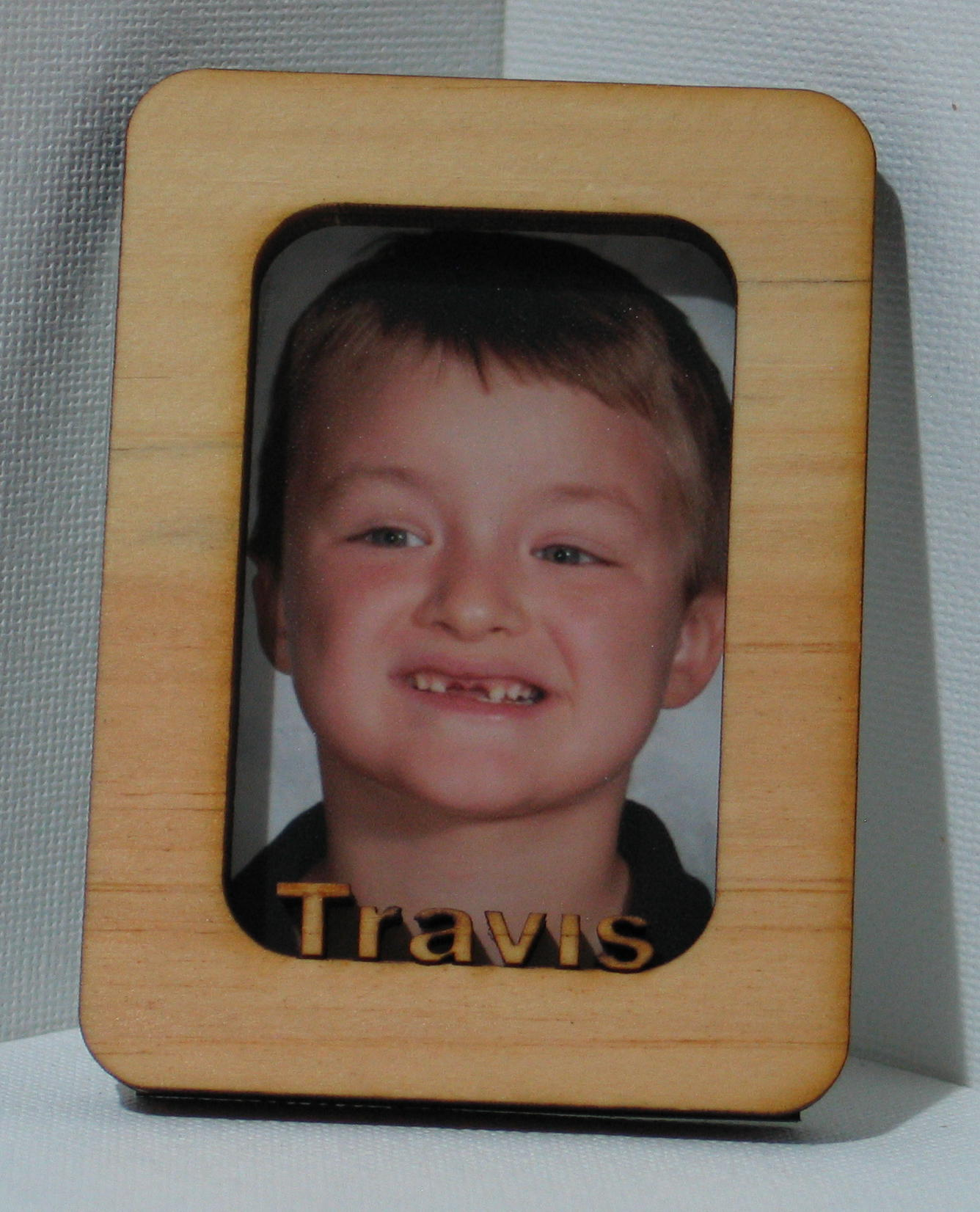 Name plaques and custom signs picture frames with your childs name starting at 800 each this one shown is for a wallet size picture jeuxipadfo Images